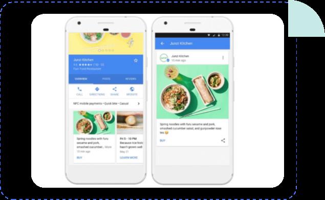 google posts mobilosoft