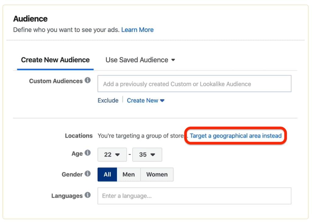 Facebook Ads Audience 1