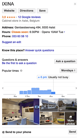 google-my-business-kitchen specialists