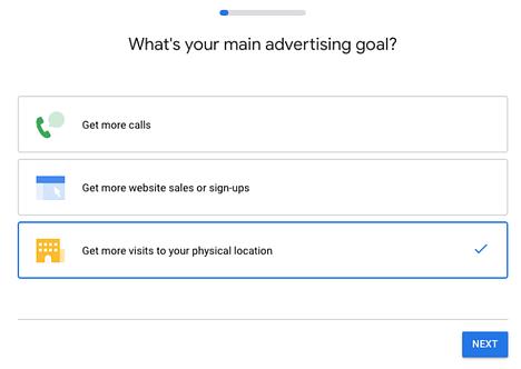 Local ads set up 2